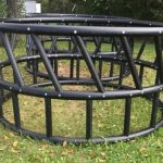 FOR SALE: New Poly Round Bale Feeders