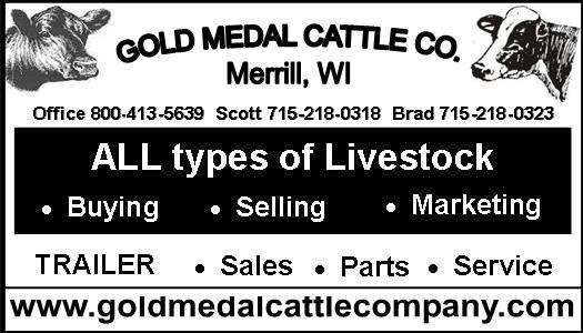 Gold Medal Cattle Generic Ad 2